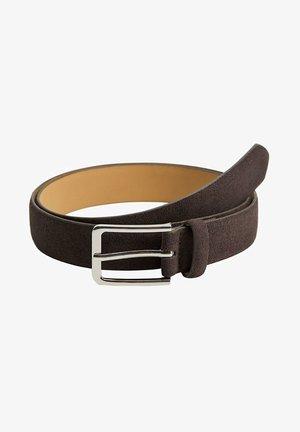 SUEDE - Belt - brązowy