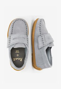 Next - GREY LEATHER PENNY LOAFERS (YOUNGER) - Moccasins - grey - 1
