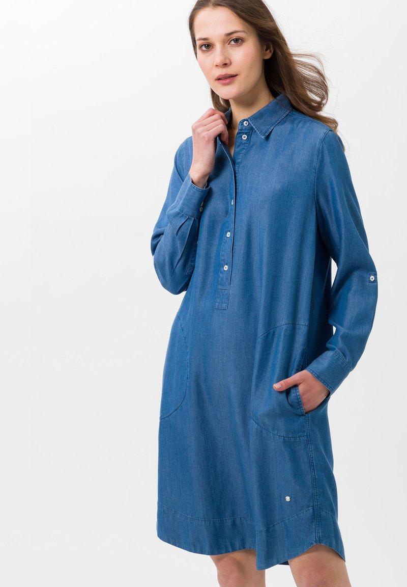 BRAX - STYLE GILLIAN - Denim dress - blue
