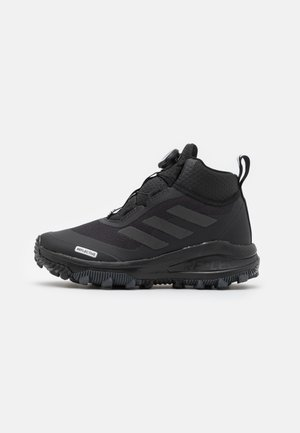 FORTARUN KIDS NEXT CLOUDFOAM UNISEX - Zimní obuv - core black/grey six