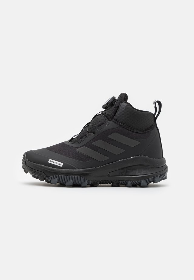 FORTARUN KIDS NEXT CLOUDFOAM UNISEX - Śniegowce - core black/grey six