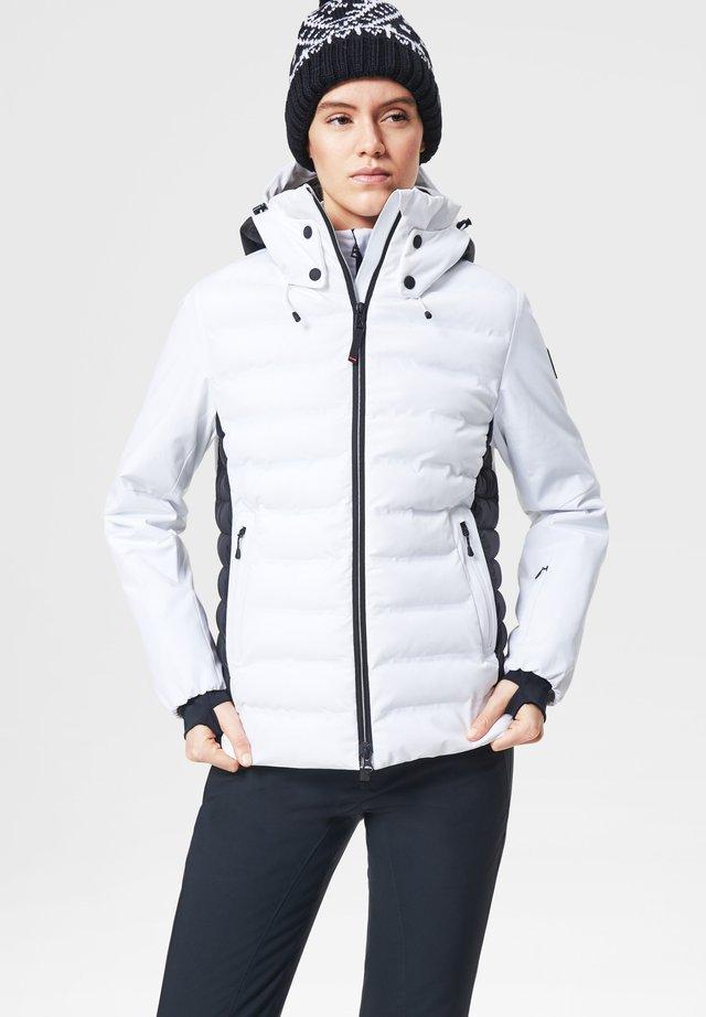 JANKA - Veste de ski - white