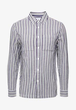KHAKI/CHARCOAL STRIPE - Shirt - mul