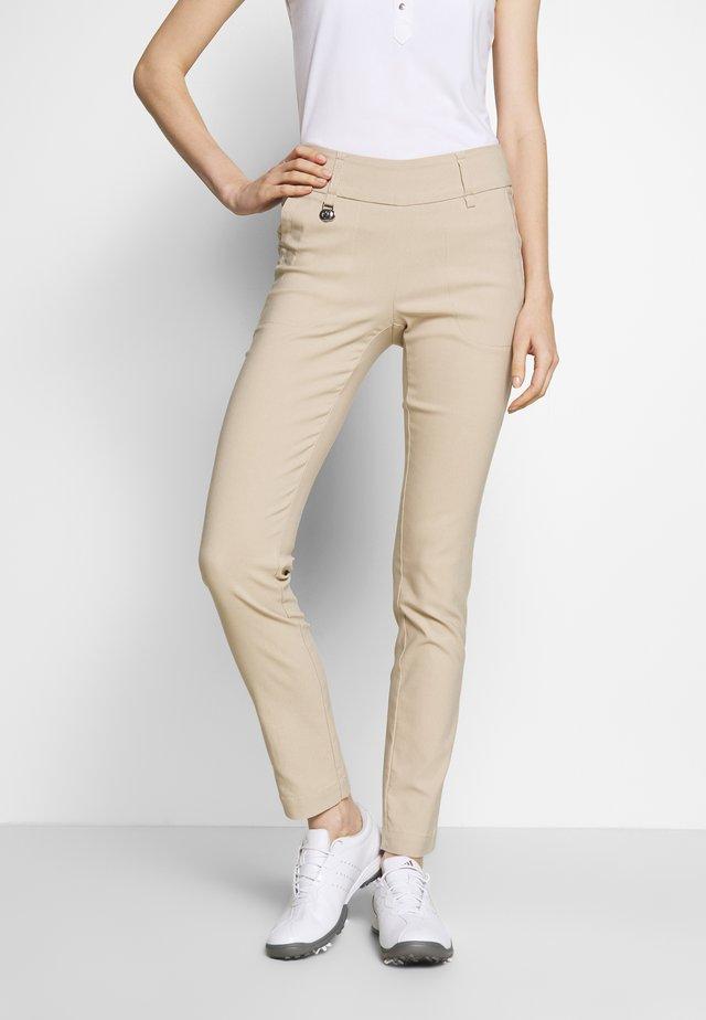 MAGIC PANTS - Trousers - straw