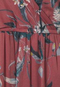Vero Moda - VMWONDA WRAP DRESS - Maxi dress - rose brown - 2