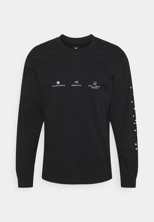 EDWIN UNISEX - Long sleeved top - black