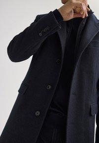 Massimo Dutti - Classic coat - blue - 5