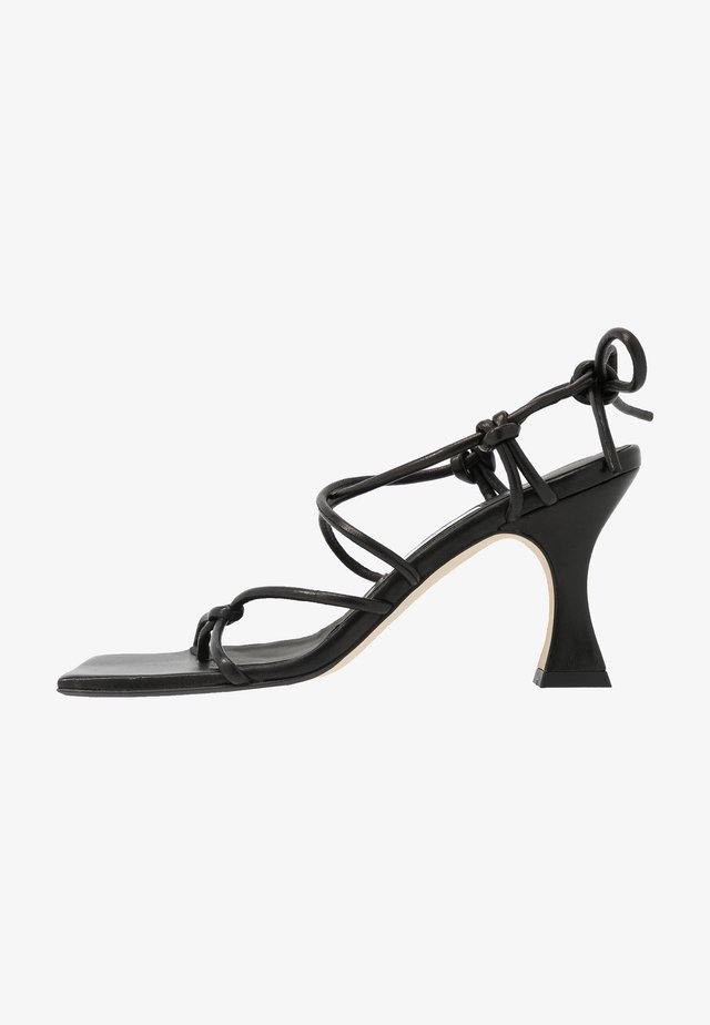 COCO - High heeled sandals - black