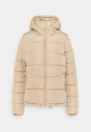PCBEE SHORT PADDED JACKET  - Winter jacket - natural