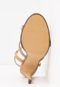4th & Reckless - JULES - Sandaler med høye hæler - nude - 6