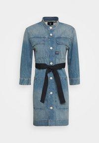 G-Star - SHIRT DRESS - Denim dress - vintage marine blue - 3