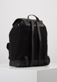 Anna Field - LEATHER/COTTON - Tagesrucksack - black - 2
