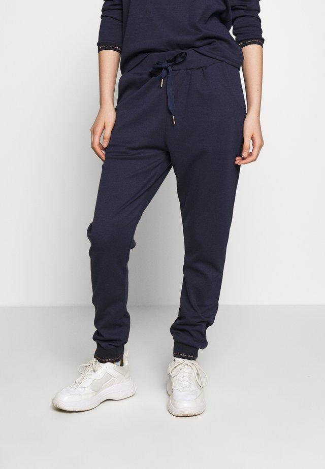 TANIZ PANTS - Pantalones - blue deep