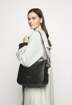 MEDIUM SHOULDER BAG - Across body bag - black