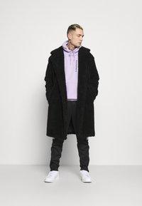 Topman - TEDDY COAT - Classic coat - black - 1