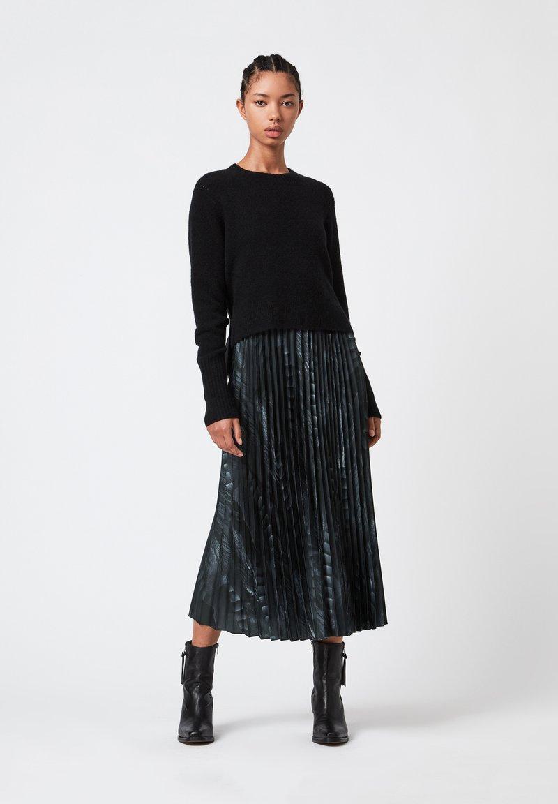 AllSaints - LEOWA VIOLA - Day dress - black
