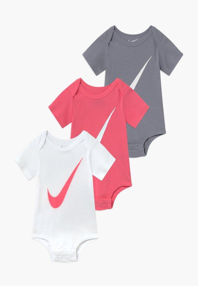 BABY 3 PACK - Cadeau de naissance - pink/white