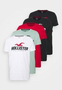 Hollister Co. - WEBEX SPORT 5PACK - Print T-shirt - multi - 7
