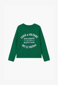 Zadig & Voltaire - Sweatshirt - dark green - 0
