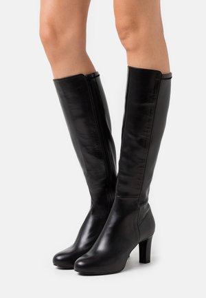 NATALIE - Plateaustøvler - black