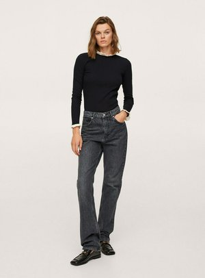 Maglietta a manica lunga - noir