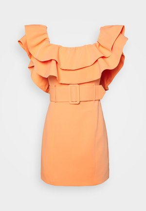 THE LUMINOUS DRESS - Cocktailjurk - peach