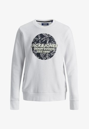 JORLEFO - Sweatshirt - white