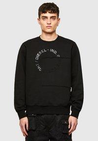 Diesel - GIRKEMB - Sweatshirt - black - 0
