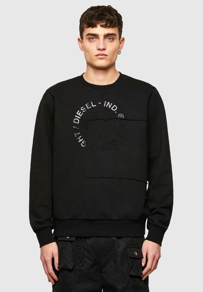 Diesel - GIRKEMB - Sweatshirt - black