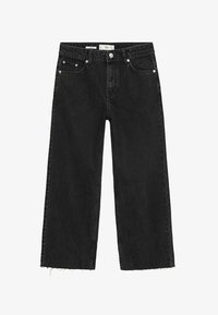 Mango - CANDY - Flared jeans - black denim - 6