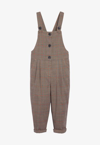 Dungarees - taupe