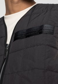 adidas Originals - PADDED VEST - Bodywarmer - black - 4