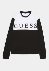 Guess - JUNIOR ACTIVE - Sudadera - jet black - 0