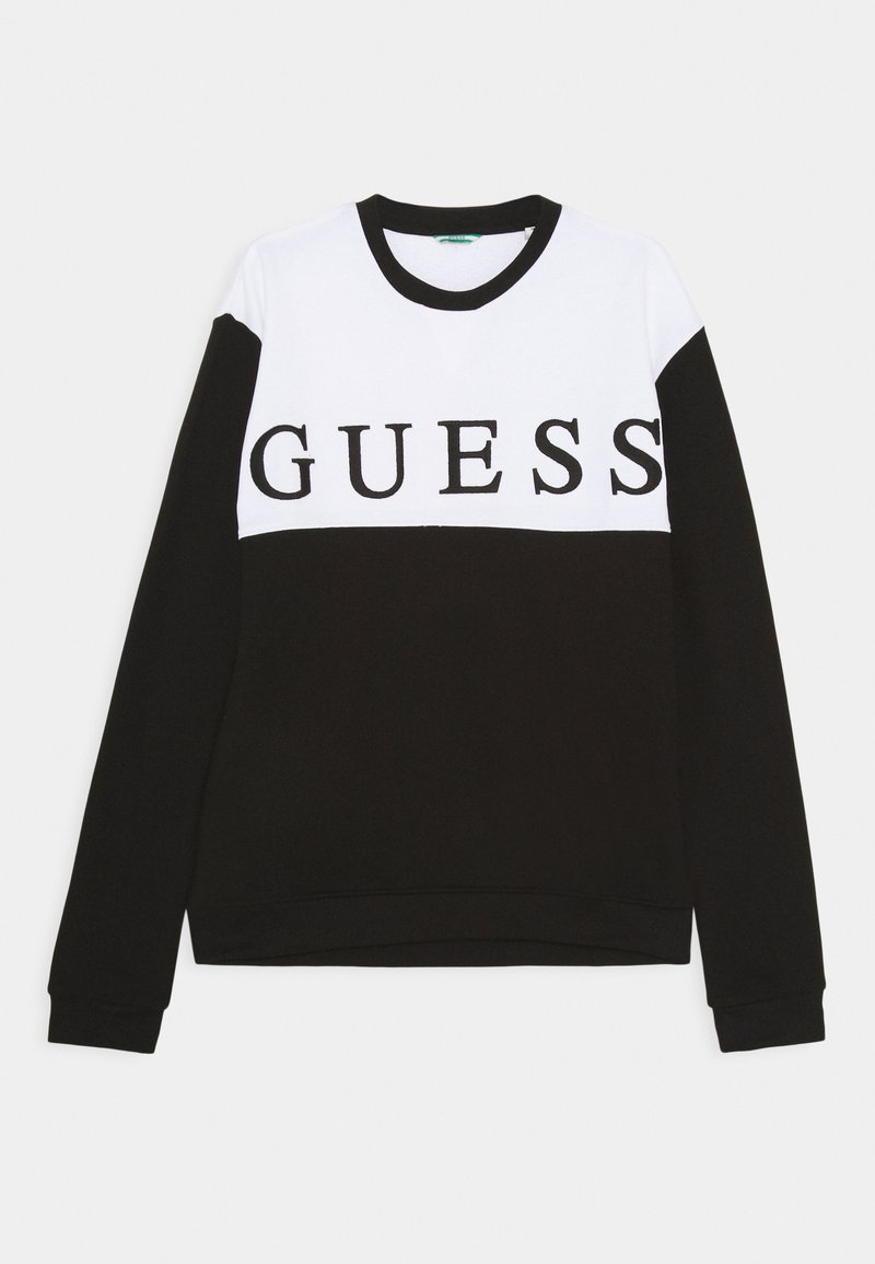 Guess - JUNIOR ACTIVE - Sudadera - jet black
