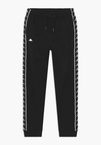 Kappa - HENNER - Teplákové kalhoty - caviar - 0