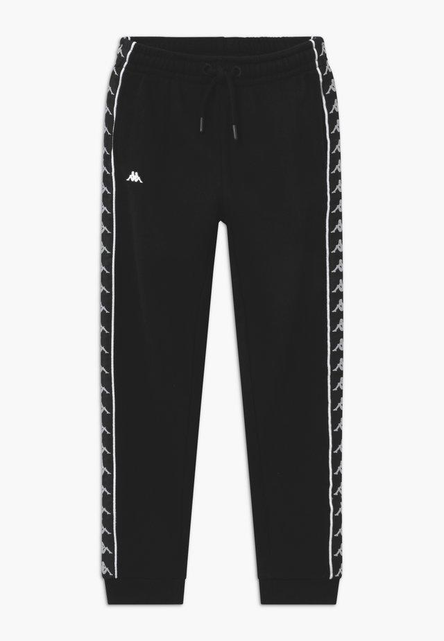 HENNER - Pantalones deportivos - caviar