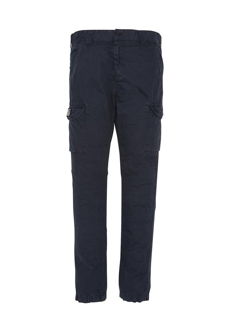 Schott - Cargo trousers - bleu marine
