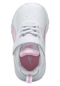 Reebok - REEBOK RUSH RUNNER 3 SHOES - Sneakersy niskie - white - 5