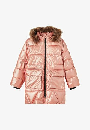 PUFFER- - Down coat - rose gold colour