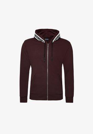 UMLT-BRANDON-Z - Sweater met rits - cordovan (00se8m-0eeal-44k)