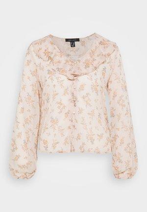 ALISON FRILL - Blouse - pink pattern