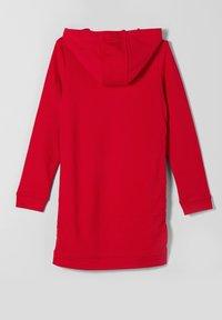 s.Oliver - MIT GALONSTREIFEN - Day dress - red - 1
