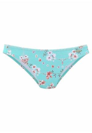 CHEEKY - Bikini bottoms - türkis-bedruckt