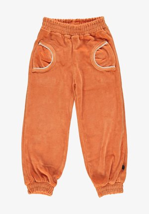 Tracksuit bottoms - orange
