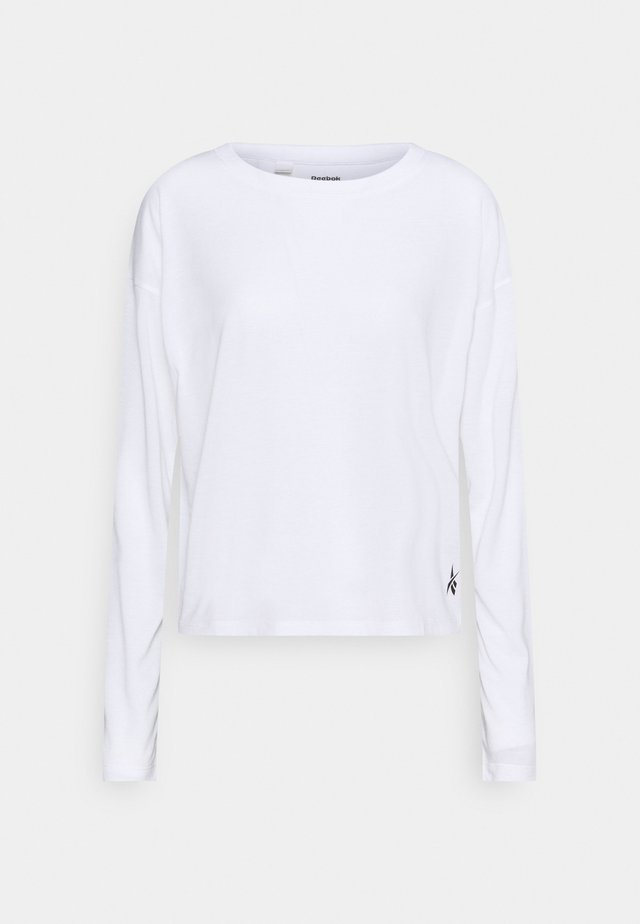 SUPREMIUM LONG SLEEVE - Treningsskjorter - white