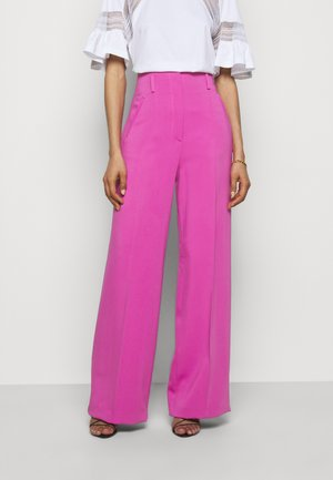 TROUSERS - Trousers - violet