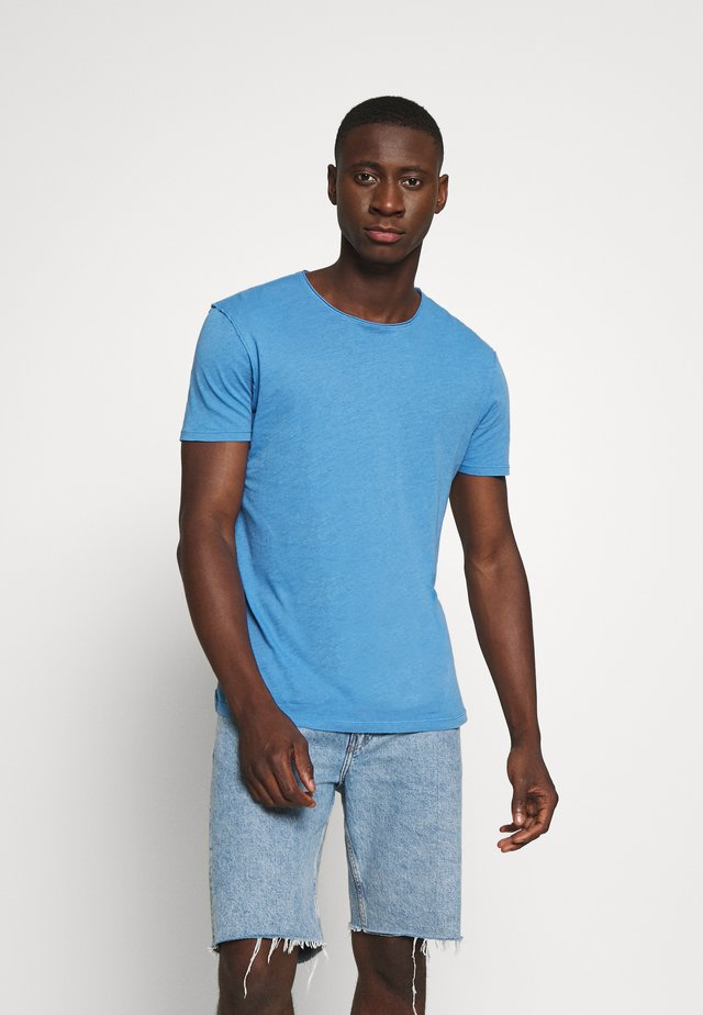 FIGURE CREW - Basic T-shirt - atlantic blue