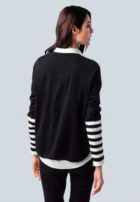 Alba Moda - Sweatshirt - schwarz,off-white - 2