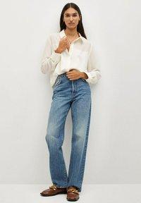 Mango - BIMA - Button-down blouse - ecru - 1