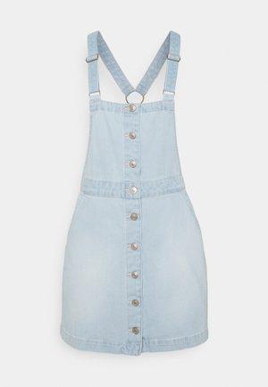ALINE SKIRTALL - Denimové šaty - light wash